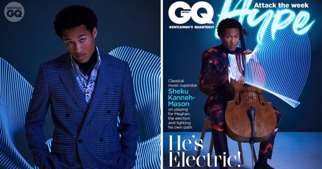 Sheku Kanneh-Mason makes history on GQ Magazine cover