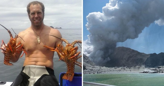 First victim of New Zealand volcano eruption pictured