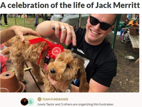 Fundraiser to celebrate Jack Merritt's life raises £16,000 in three days