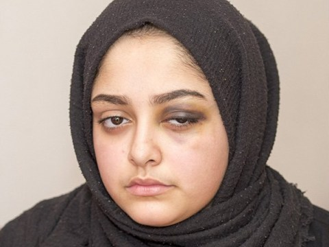 Woman who 'choked' Muslim girl, 14, with hijab let off with caution