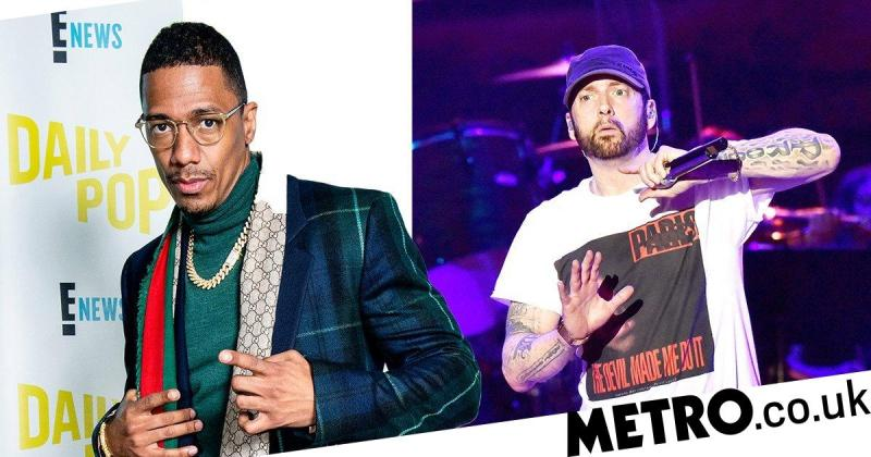 What did Nick Cannon say about Eminem in his diss song The Invitation?