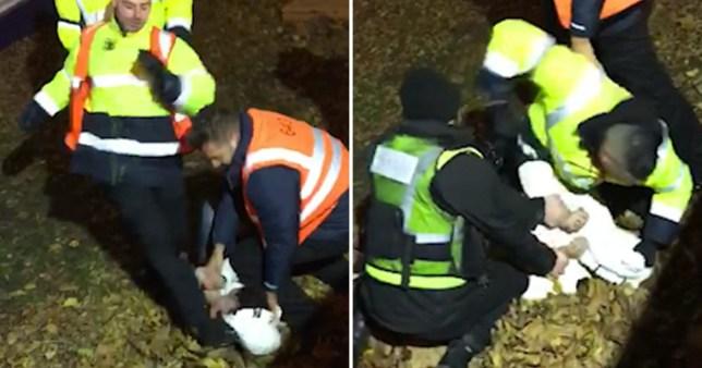 Winter Wonderland bouncers were filmed kicking a boy in the head