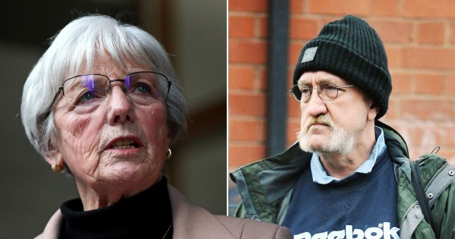 Marie McCourt says Simms is too dangerous to be released (Picture: PA/Chris Neill/Daily Mail)