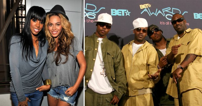 Beyonce, Kelly Rowland and Jagged Edge