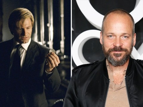 Aaron Eckhart reacts to rumours that Peter Sarsgaard will play Harvey Dent in The Batman