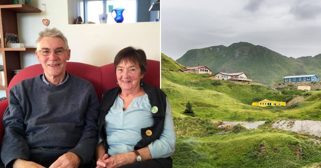 Picture of couple who scraped a dream holiday to America and chose to travel to Cornwall instead