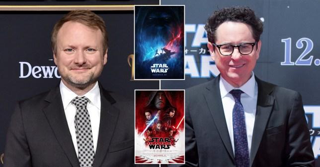 Riam Johnson JJ Abrams Star Wars