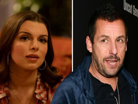 Adam Sandler changed name of Julia Fox's Uncut Gems character to avoid awkward clash with daughter