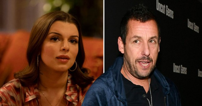 Adam Sandler had name changed for Julia Fox's character in ...