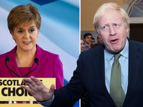 Boris Johnson refuses demands for Scottish Referendum despite SNP gains