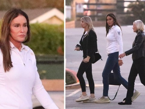 I'm A Celebrity's Caitlyn Jenner goes out for dinner date in first pictures since returning from Australia