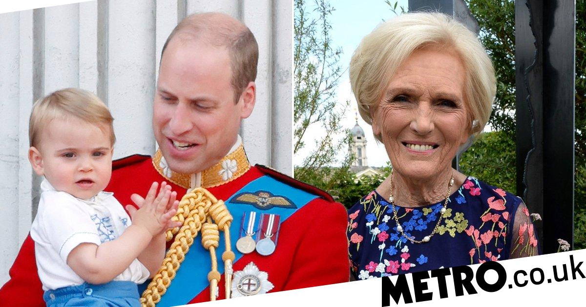 Kate reveals Prince Louis' first words were 'Mary Berry'