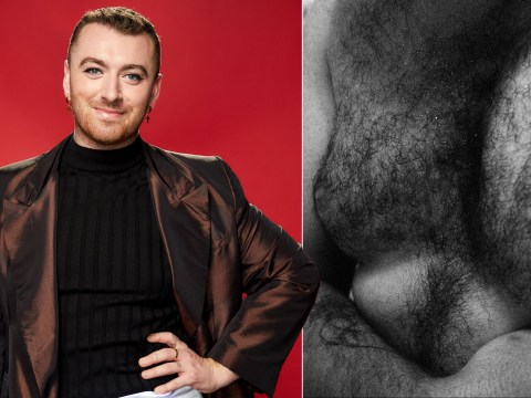 Sam Smith says Christmas 'triggers body issues' as they share artful pic of their bare chest