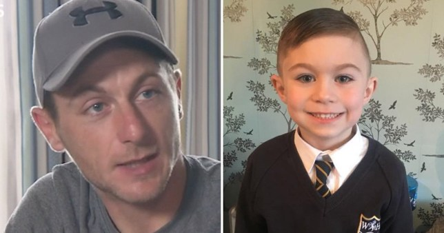 Nathan Dobson, father of Lucas Dobson who drowned