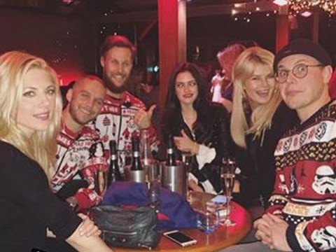Vikings stars Clive Standen and Georgia Hirst ring in Katheryn Winnick's birthday with BTS pictures