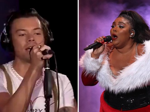 Harry Styles covering Lizzo's Juice on BBC Radio 1 Live Lounge has everyone hot under the collar