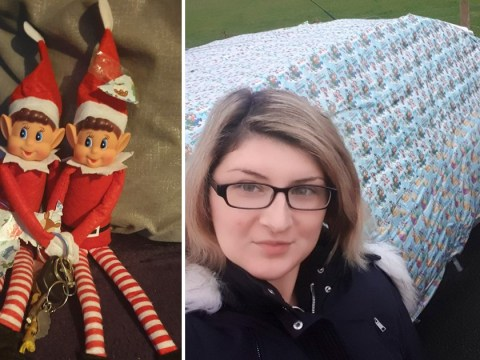 Mum wraps up family car and blames the Christmas elf