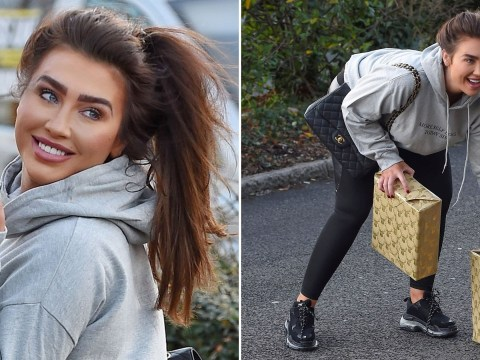 Lauren Goodger is all about the 'self love' after being caught agreeing to flog lethal cyanide drink