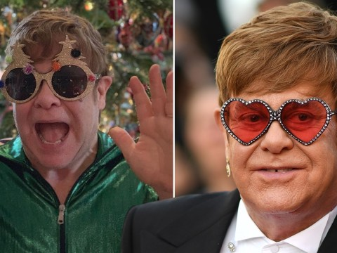 Elton John steps into Christmas with festive outfit: 'Never let it be said I can't get into the spirit!'