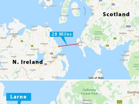 Boris Johnson hints he could build a bridge between Northern Ireland and Great Britain