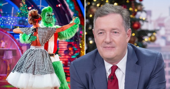Why Piers Morgan will never do Strictly Come Dancing Credit: BBC/REX