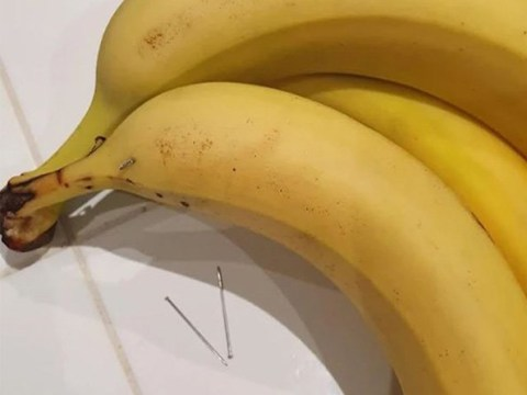 Boy finds sewing needles inside Asda bananas as he bites into one