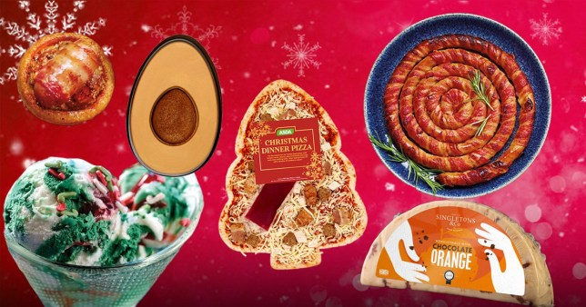 Here are the most OTT Christmas foods at supermarkets (Picture: Metro.co.uk)