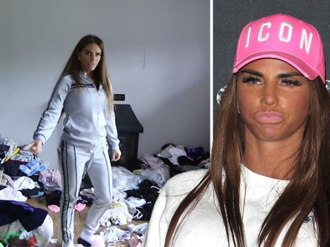 Katie Price is finally cleaning up her 'mucky mansion' as the house looks unrecognisable after the clearout