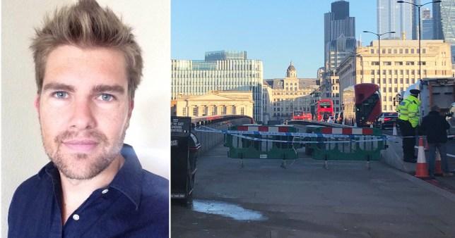The London Bridge Narwhal tusk wielder has revealed how he fought off terrorist Usman Khan
