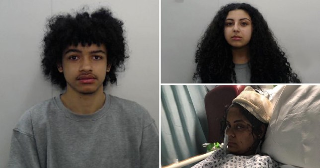 Iman Nassir was repeatedly stabbed by Rhett Carty-Shaw after Sarah Mohamed 'ordered' him to kill her