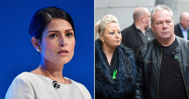 Harry Dunn's parents will meet with Home Secretary Priti Patel as the extradition process begins (Picture: PA)