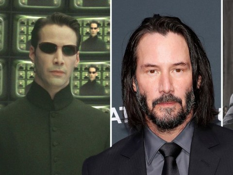 Keanu Reeves is locked and loaded as he begins training for John Wick and The Matrix