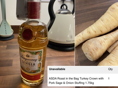 Asda shopper's online Christmas delivery came without a turkey