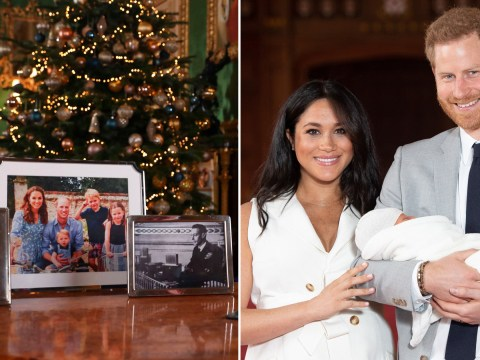 Has the Queen snubbed Harry and Meghan in her Christmas broadcast?