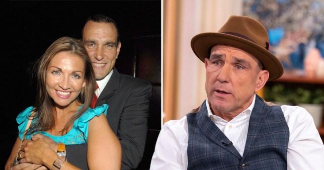Vinnie Jones and his wife Tanya