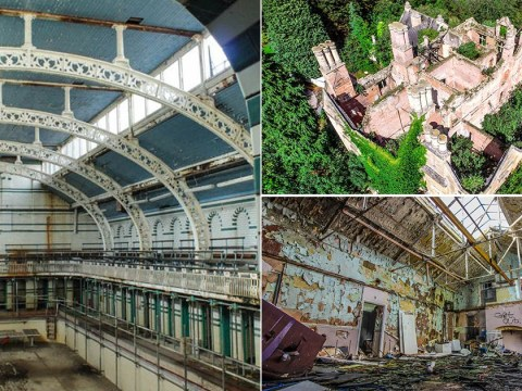 Uncovering the dark secrets of some of Britain's eeriest abandoned buildings