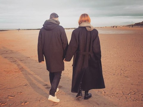 Stacey Dooley and Kevin Clifton enjoy romantic seaside walk after spending Christmas together