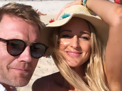 Ronan Keating's wife Storm shows off baby bump in Sydney before narrowly avoiding cyclone