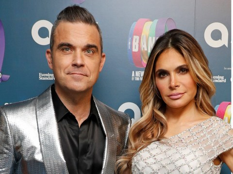 Robbie Williams brands Louis Walsh 'two-faced' for taking dig at wife Ayda Field