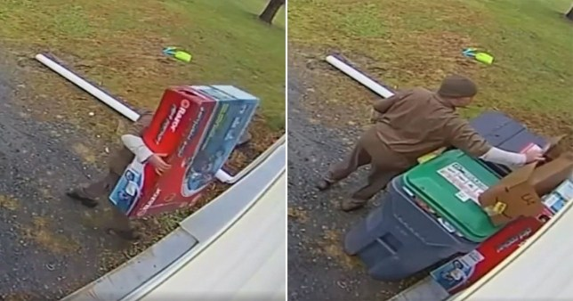 Delivery driver 'saves Christmas' by hiding unboxed gifts from kids