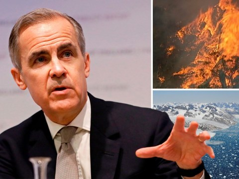 Bank of England boss calls for faster action on climate change