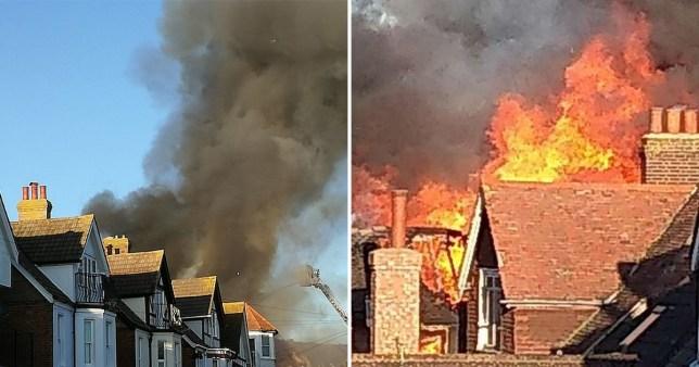 Kent house fire