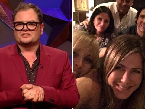 Alan Carr just grossed us out with Courteney Cox and Prince Andrew joke that shatters Friends reunion photo