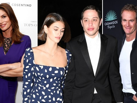 Cindy Crawford and Rande Gerber are 'stepping in to help daughter Kaia Gerber's troubled boyfriend' Pete Davidson