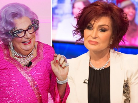 Sharon Osbourne's vaginal surgery rinsed by Dame Edna Everage in epic take down