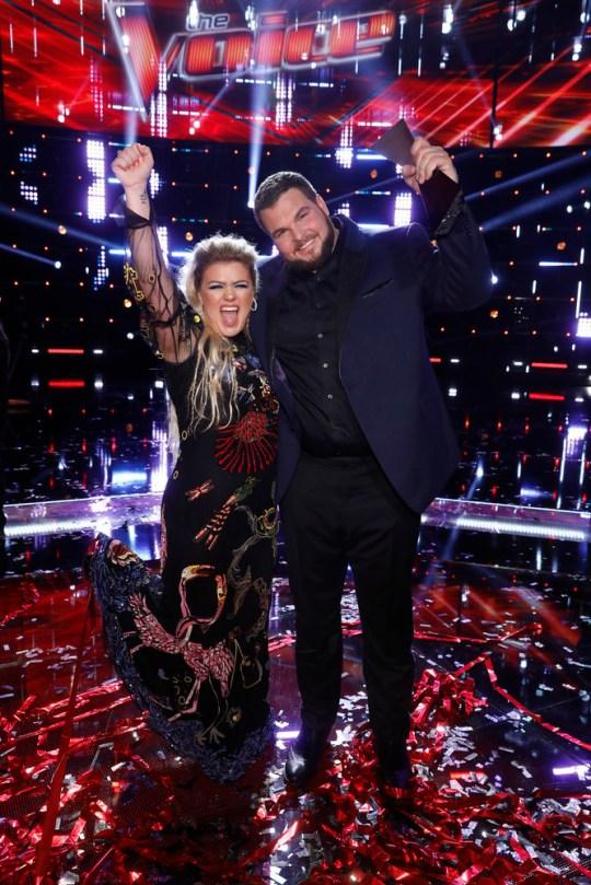 Kelly Clarkson and Jake Hoot