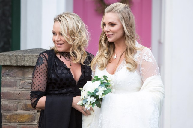 Roxy and Ronnie Mitchell