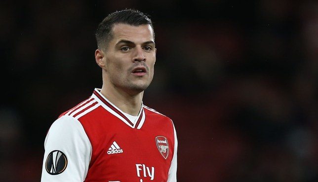 Granit Xhaka misses today's game against Chelsea