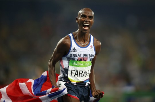 "File photo dated 20-08-2016 of Great Britain's Mo Farah. PRESS ASSOCIATION Photo. Issue date: Friday November 29, 2019. Sir Mo Farah has announced he is ""back on the track"" and will aim to compete in the 10,000 metres at next year's Olympic Games. See PA story ATHLETICS Farah. Photo credit should read Mike Egerton/PA Wire."