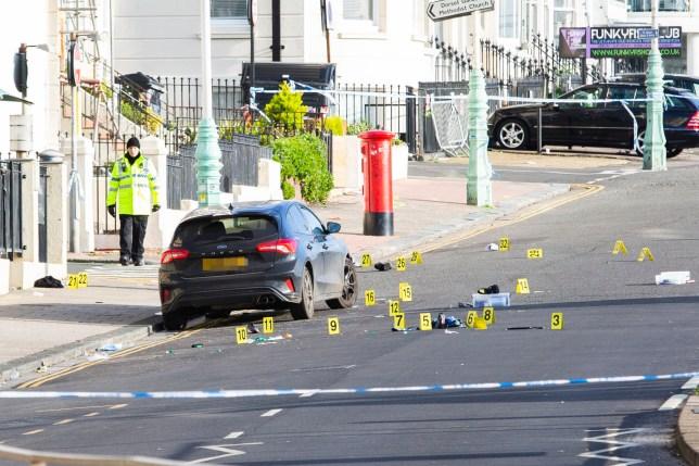 Brighton crash